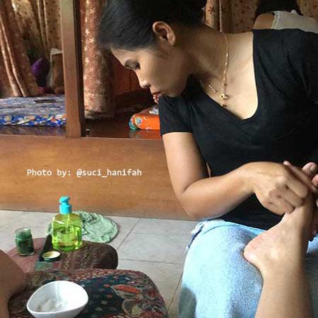 Penampakan bilik massage
