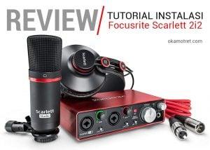 Review soundcard recording | Focusrite Scarlett 2i2