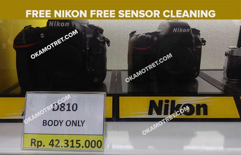 Nikon FREE Sensor Cleaning
