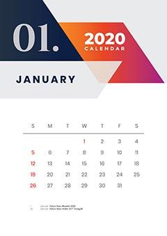 Calender 2020 okamotret