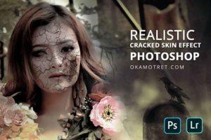 Buat Efek Wajah Retak Tampak Realistis di Photoshop