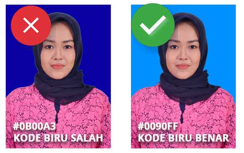 Background Biru Merah Di Photoshop Kode Warna Teknoride