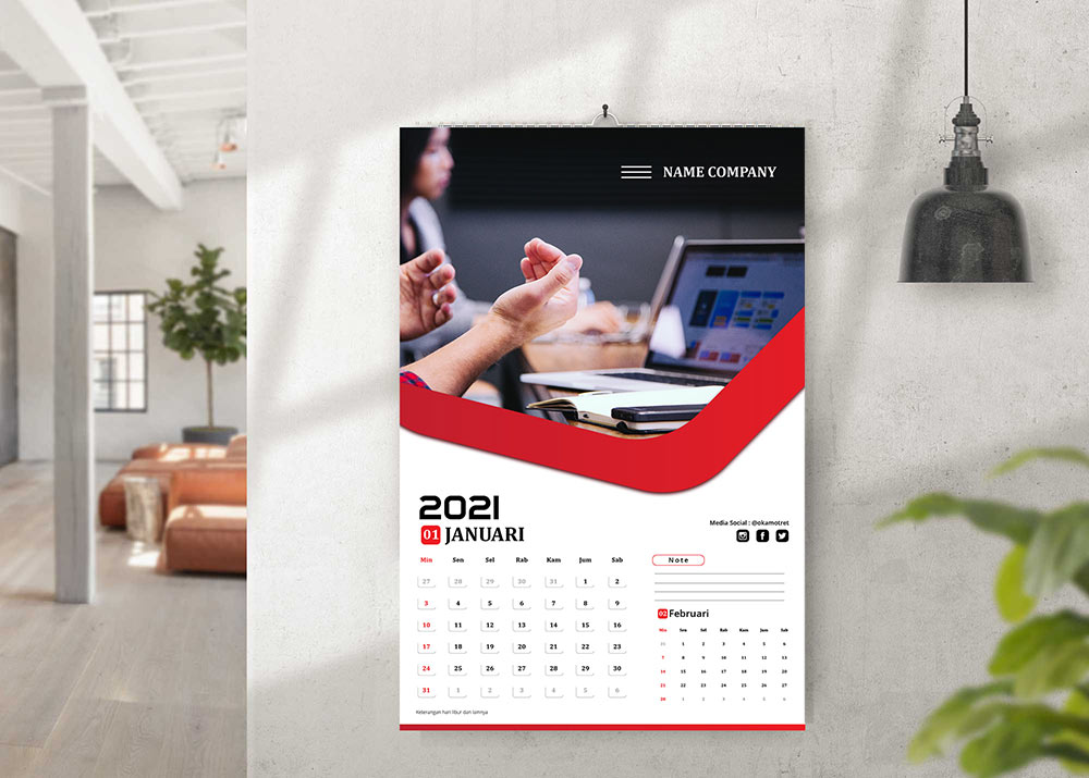 Download Kalender Karakter 2021
