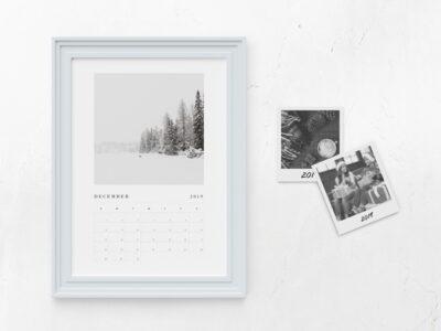 Kalender Konsep Frame