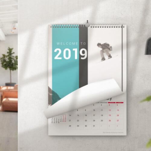 Kalender Dinding Minimalist