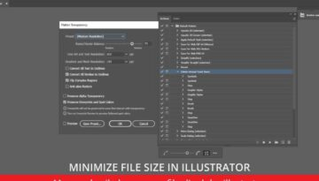 How to Reduce the File Size in Illustrator okamotret