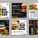 Catalogue design burger