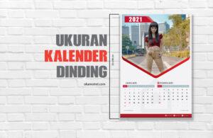 Ukuran kalender dinding
