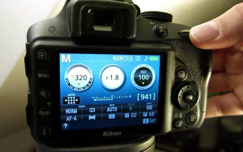 setting aperture