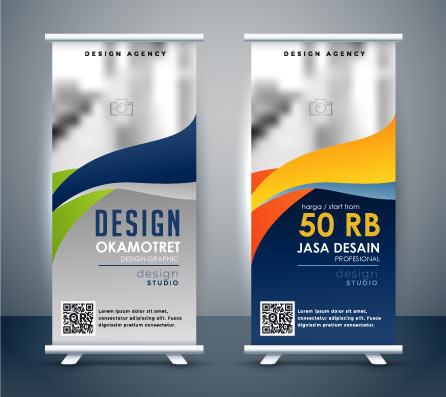 desain X banner