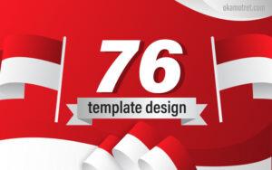 Template Desain 17 Agustus